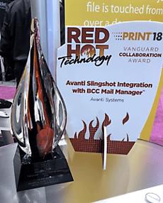 Avanti Vanguard Award